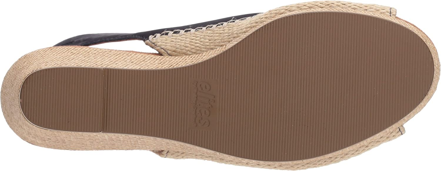 Walking Cradles Women's D Anikka Espadrille Wedge Sandal B0743K6S94 6 D Women's US|Blue Nubuck 581af4