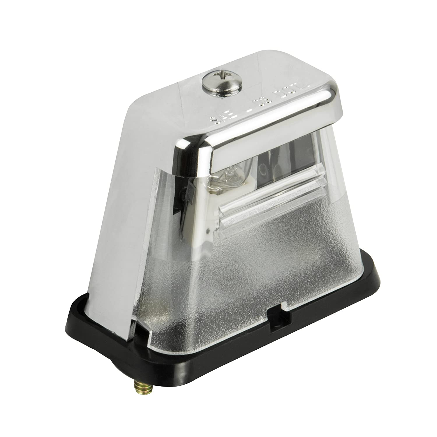 Blazer B170 Chrome 2-Stud Mount License Lamp Blazer International Trailer & Towing Accessories