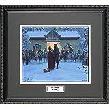 Mort Kunstler UNTIL WE MEET AGAIN Framed Wall Art Civil War Print, 18x16