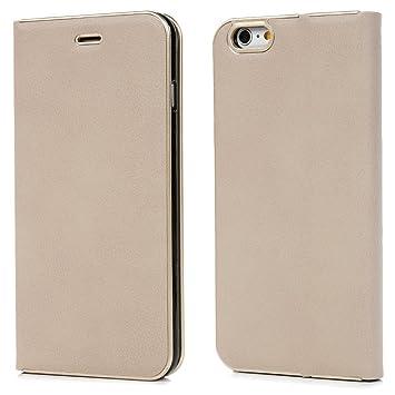 c1b0ae586707 iPhone6s ケース iPhone6 ケース クリスマスプレゼント 手帳型 横開き PUレザー ストラップ付 カードケース