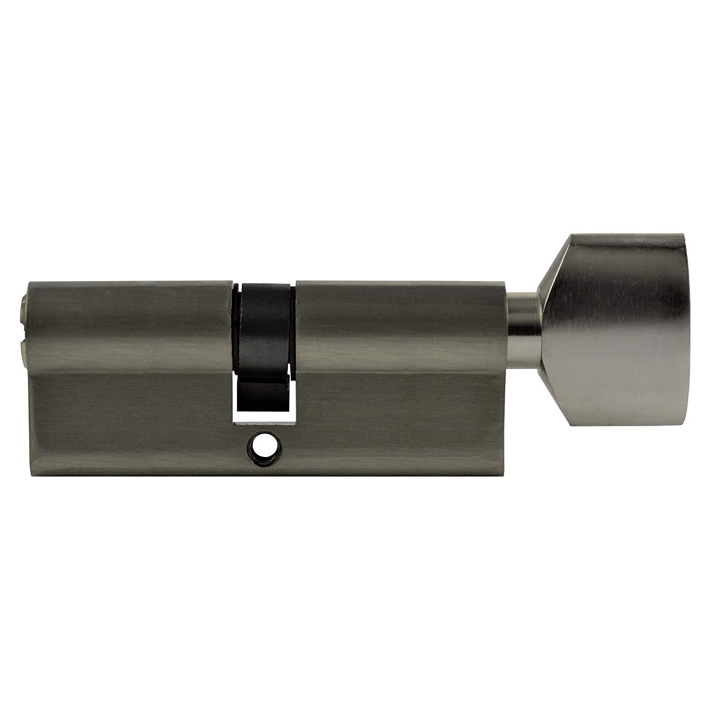 Cilindro 80/mm 40//40/con pomo Pomo Incluye 5/llaves reversible