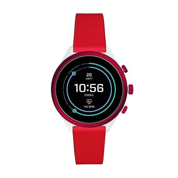 Amazon.com: Fossil - Reloj inteligente deportivo de metal y ...