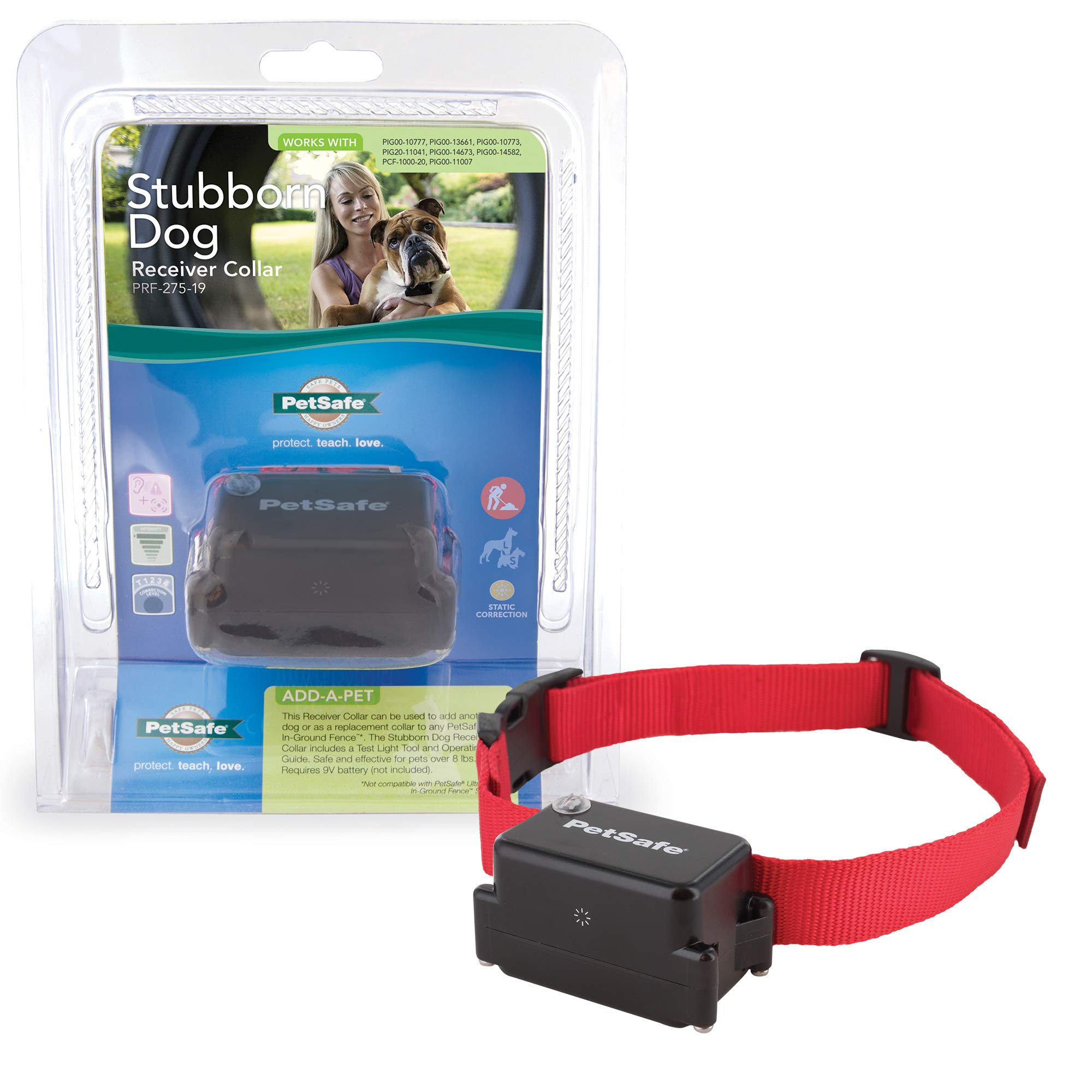 PetSafe Stubborn Dog In-Ground Fence for Dogs and Cats – from the Parent Company of INVISIBLE FENCE Brand – Multiple…