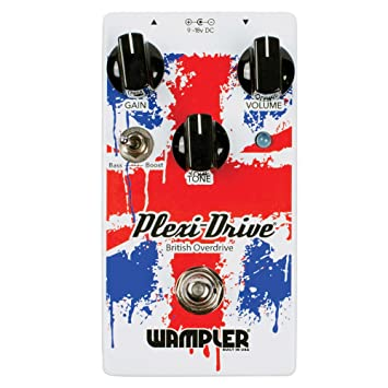 Wampler Plexi Drive British Overdrive - Pedal de efectos para guitarra eléctrica: Amazon.es: Instrumentos musicales