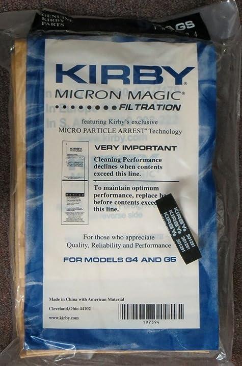 9 kirby sentria micron magic g36 g4 g5 vacuum bags 1 kirby