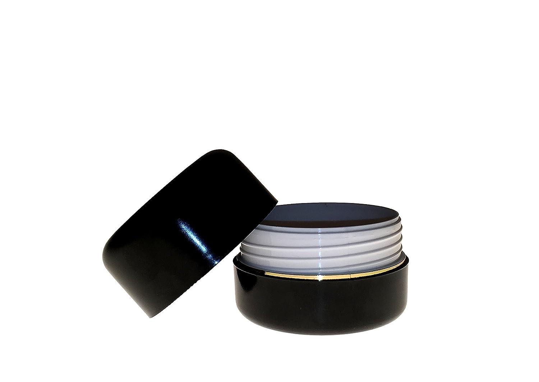 Advantis 50ml / 50g barattoli vasi contenitori cosmetici vuoti di plastica con coperchi per creme cosmetiche balsamo lozione ombretto polvere - 20 pezzi