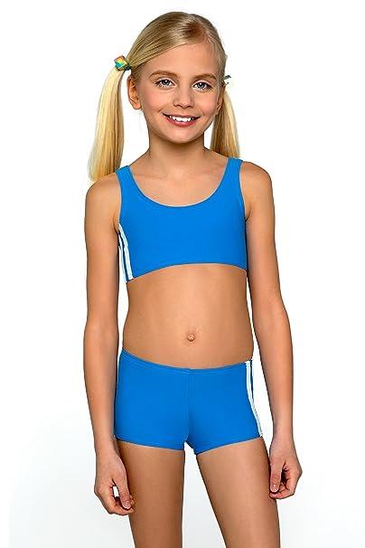 LORIN Tankini Set Kids Girls Bikini Swimwear Beachwear Bathing New