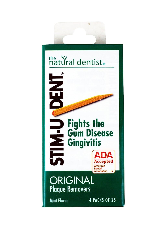 Stim U Dent plaque removers, mint flavor - 100 ea Stim-U-Dent 00053