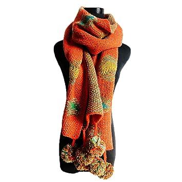 Butterme longue écharpe en tricot pour femme, chaude écharpe d hiver,  foulard à 7354b4acc2f