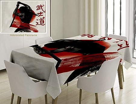 Nalagoo Mantel de Mezcla de algodón y Lino japonés ...