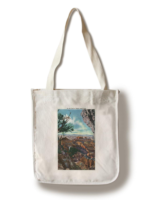 グランドキャニオン国立公園、アリゾナ州 – Scenic View on the Trailを明るいポイントAngel Canvas Tote Bag LANT-29530-TT B01841LQ36  Canvas Tote Bag