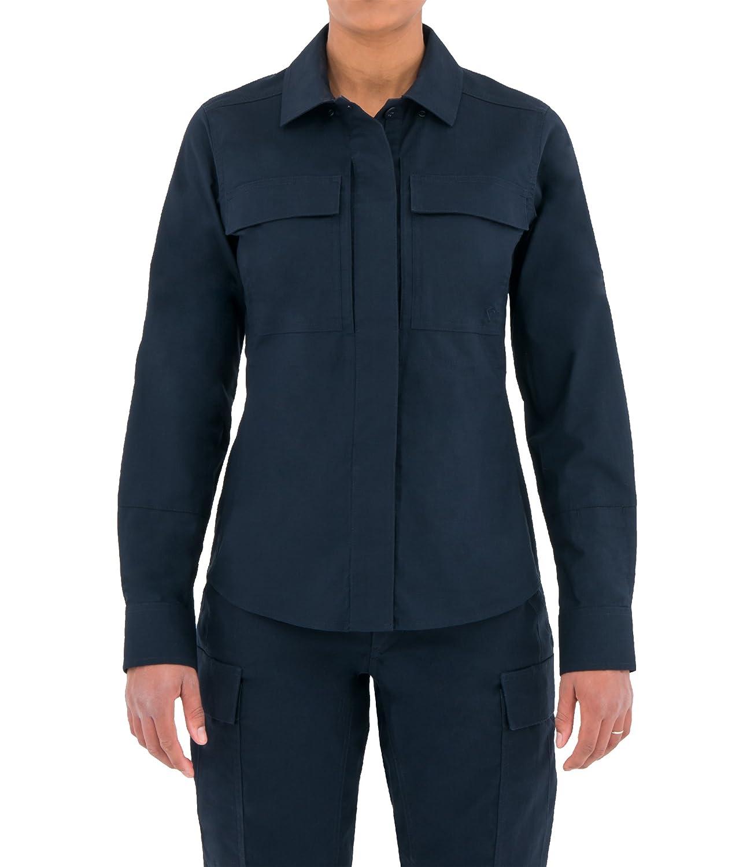 86f31dbabc6c54 Amazon.com : First Tactical Women's Tactix Series Long Sleeve BDU Shirt :  Sports & Outdoors