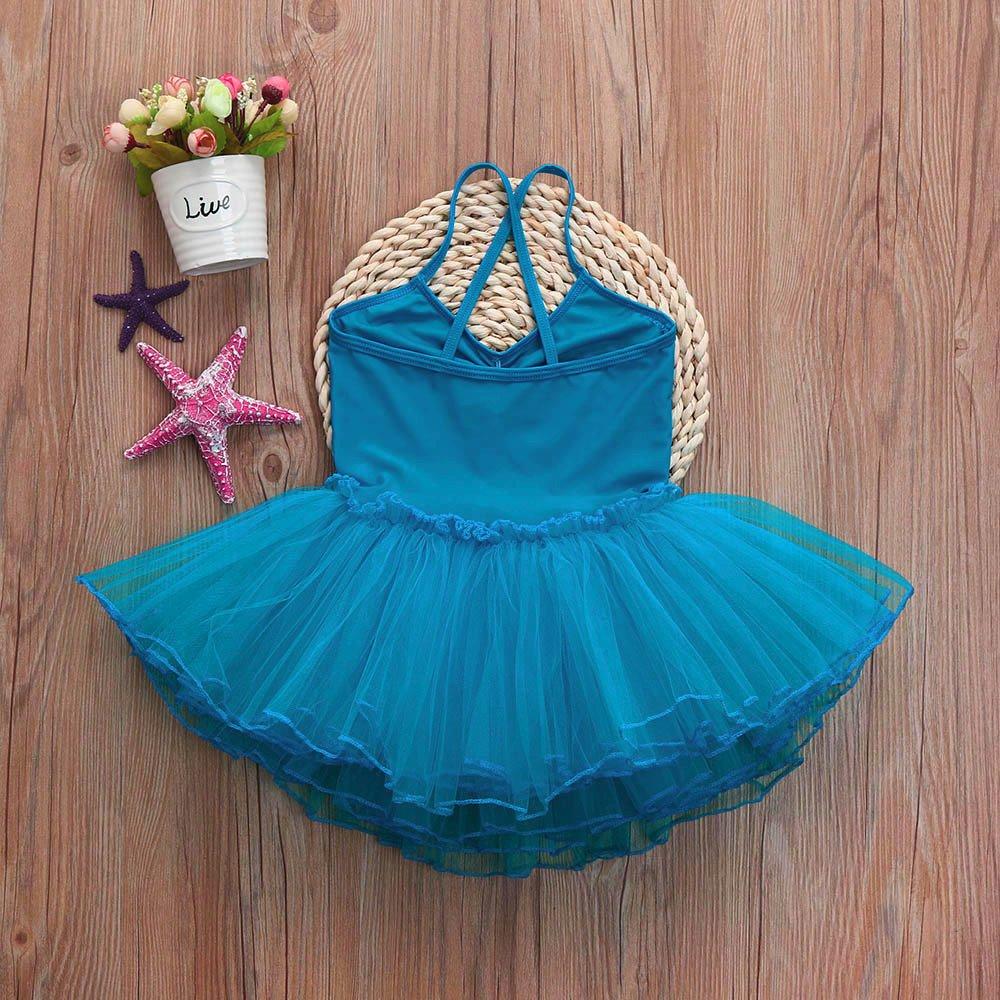 Topgrowth Bambini Ragazze Vestito Balletto Body Tutu Dancewear Leotard Danza Body Abito Gonna tut/ù da Ginnastica