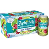 Zephyrhills Sparkling Water, Raspberry Lime, 12 oz. Cans (Pack of 8)