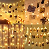 MINGER Photo Clips String Lights Holder, Indoor