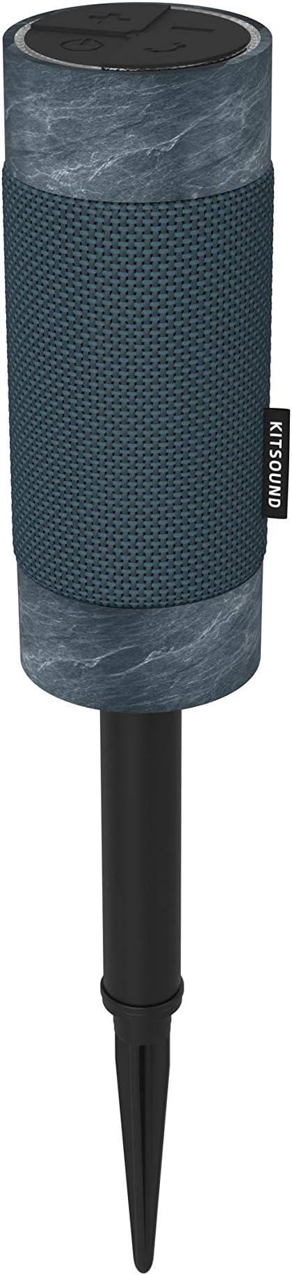Kitsound Diggit Bluetooth Lautsprecher Für Draußen Marineblau Audio Hifi