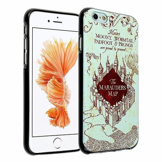 sale retailer e8602 00eef iPhone SE Case,Harry Potter Hogwarts Marauders Map iPhone 5 Case DURARMOR  FlexArmor Soft Flexible TPU Bumper Case Slim ScratchSafe Shock Absorbing ...