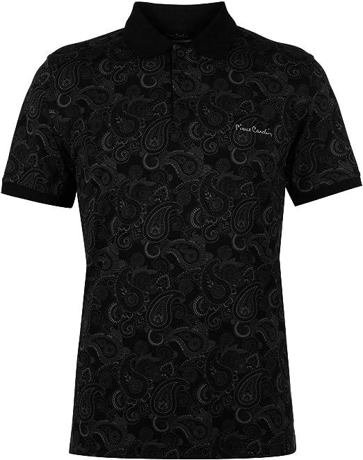 Pierre Cardin Hombres Paisley Polo Camiseta Clásica: Amazon.es: Ropa y accesorios