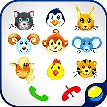 Babyphone para bebês - divertido jogo educacional interativo para as crianças a fazer telefonemas falsos e aprender números de 0 a 9, animais selvagens e domésticos, sons de animais. Cores brilhantes e música alegre do telefone das crianças