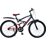 Hero  Sprint RX1 26T Single Speed Mountain Bike (Black Red, Ideal For : 12+ Years )