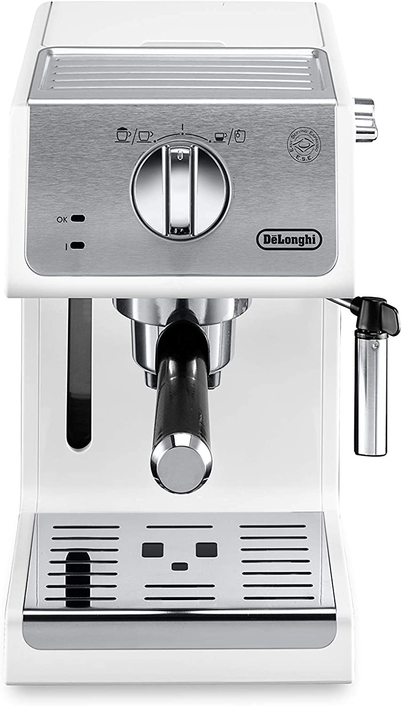 DeLonghi Active Line ECP33.21.W Independiente - Cafetera (Independiente, Cafetera combinada, 1,1 L, De café molido, 1100 W, Blanco): Amazon.es: Hogar