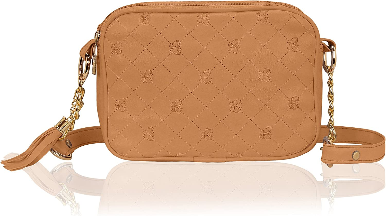 Kleio Quilted Faux Leather...