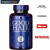 Hair Growth Vitamins with Biotin, DHT Blocker + 30 Other Minerals, Herbs to Stop Hair Loss in Men & Women - Healthier Hair, Skin & Nails, 60 Caps