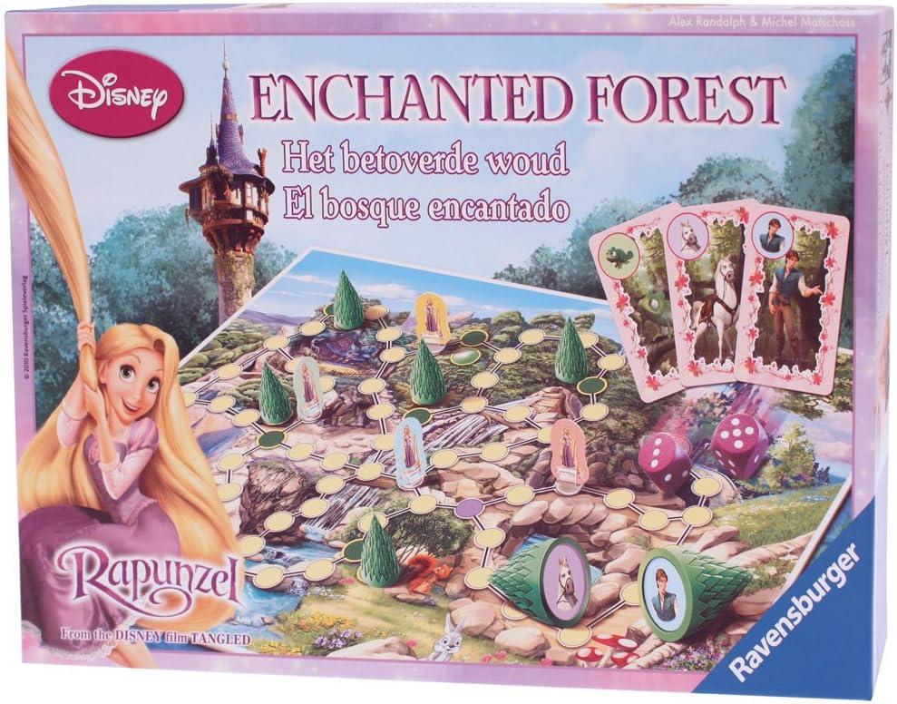 Ravensburger Disney - Juego de Mesa con el Bosque Encantado de Rapunzel: Amazon.es: Juguetes y juegos