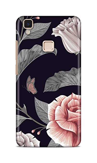 Shengshou Mobile Back Cover for Vivo V3 Pattern ABC348M37264
