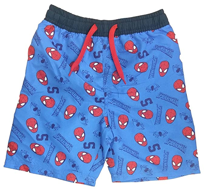 43859e6586 Marvel Spiderman Boys Swimming Trunks Swim Shorts Beach Surf Water Boxers  (12-24 Months