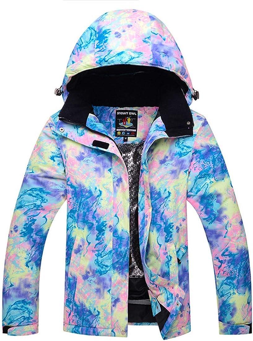 Jhcpca 女性の防風スキージャケットアウトドアウォームスノーボード C03 XXL