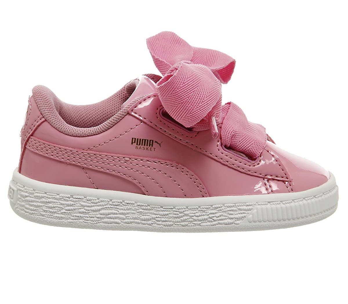 Puma Basket Heart Patent Inf, Sneakers Basses Mixte Enfant 363353