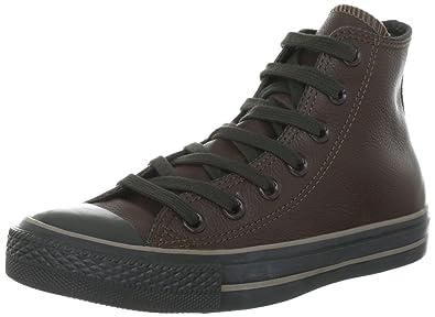 Sneakers Fashion Unisex Chocolate 132097c Erwachsene All Star Converse Leather Chuck Taylor Pkn0X8wO