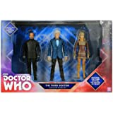 Doctor Who The Third Doctor Collector Figure Set 3 Pack John Pertwee, The Master & Jo Grant Action Figures