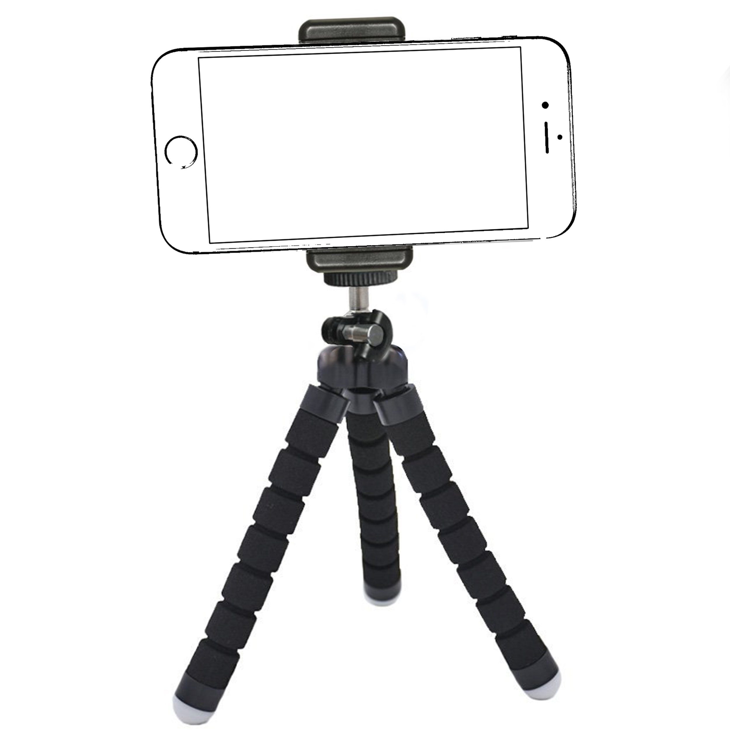 Details about iPhone Tripod,by Ailun,Tripod Mount/Stand,Phone  Holder,Compact for iPhone