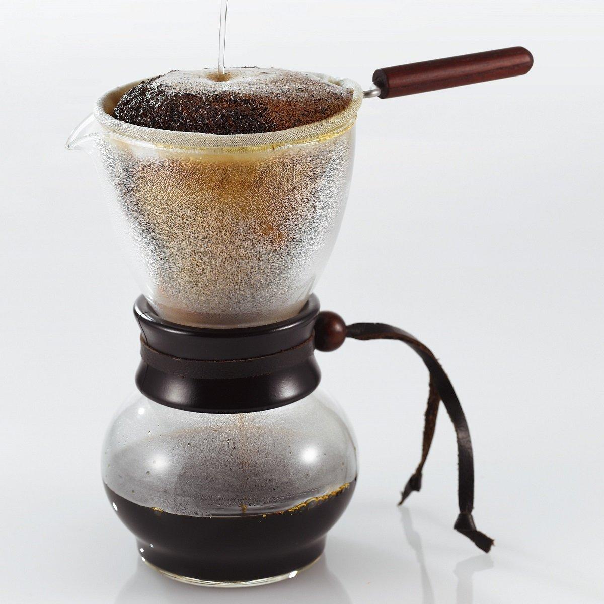 Hario woodneck coffee drip pot - Amazon Com Hario Drip Pot 240ml Drip Coffeemakers Kitchen Dining