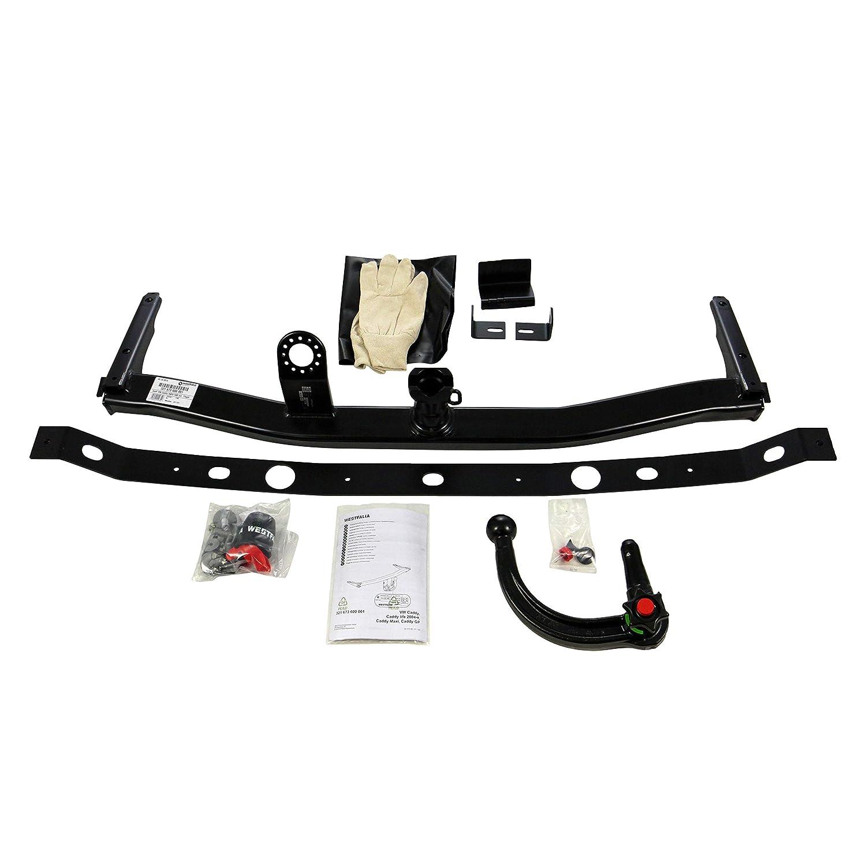 03//04-05//15 Westfalia 321673600001 Detachable towbar for VW III//Caddy Life
