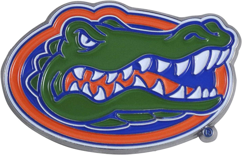 SLS FANMats Florida Gators Premium Solid Metal Color Chrome Raised Auto Emblem Decal University of