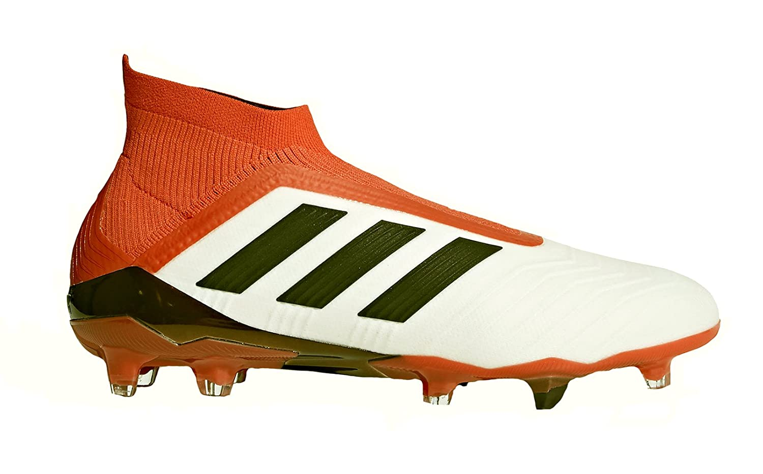 online retailer c354e 4a906 Amazon.com  adidas Predator 18+ Firm Ground Cleats FTWWHT (8.5)  Soccer