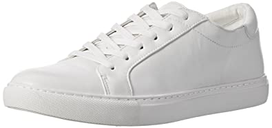 a12f0ca073e Kenneth Cole New York Women s Kam Leather Sneaker White