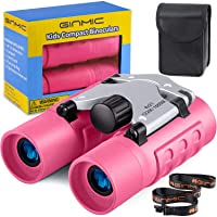 Binoculars for Kids, 8 x 21 Real Optics Mini Compact Kids Binoculars with Neck Strap - Waterproof Children's Binoculars…