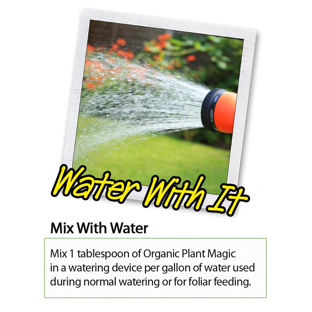 Plant Magic Plant Food 100% Organic Fertilizer - Easy to Use All Purpose for Indoor Houseplants, Outdoor Flowers, Tomatoes and All Vegetables and Trees (also known as instant Compost Tea) 1/2 lb by Organic Plant Magic (Image #5)