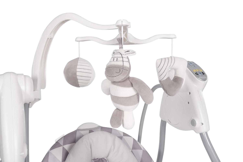 grau NEWELL GERMANY GMBH Watney Graco 2029002 Lovin Hug-Babyschaukel mit Stecker