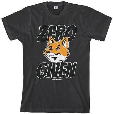 d24b01c9c Amazon.com: Threadrock Men's Zero Fox Given T-Shirt: Clothing
