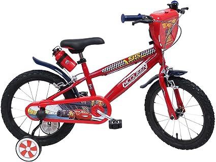 "Imagen deDisney - Bicicleta de niños, 16"", diseño Lightning McQueen de Cars"
