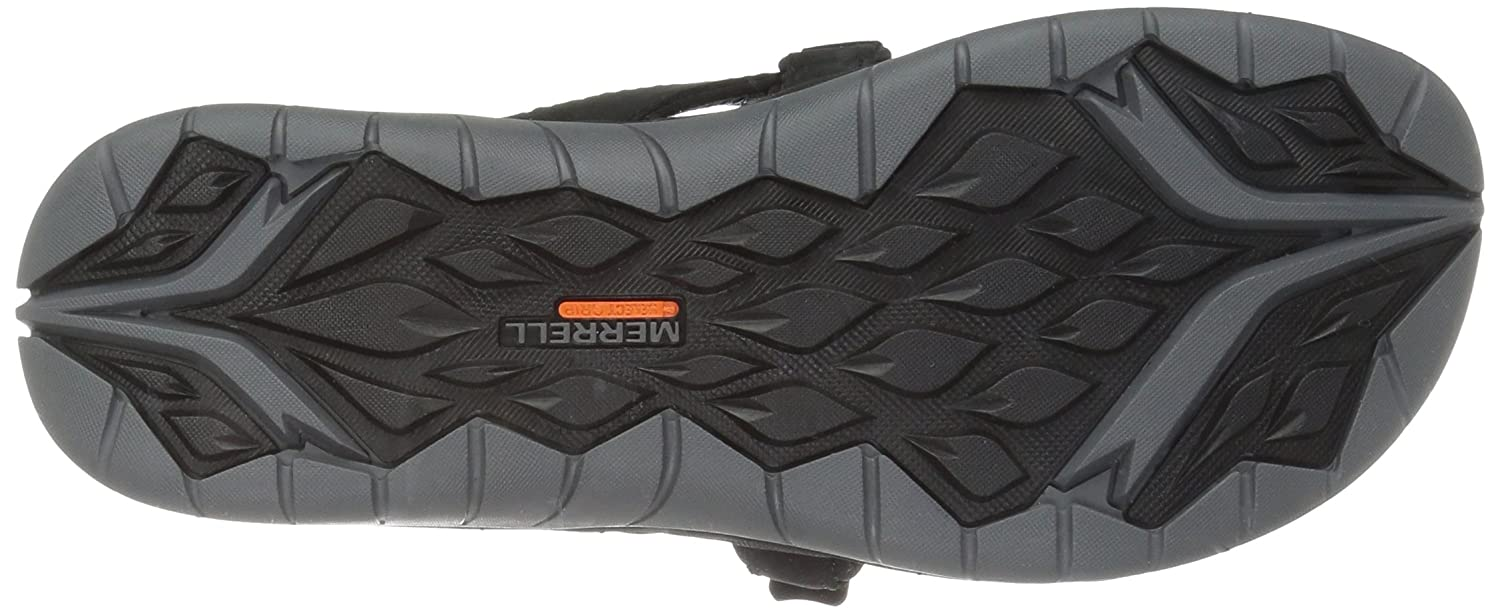 Merrell Women's Siren Flip Q2 Athletic Sandal B01HGVZFKK 9 B(M) US|Black