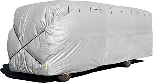 Budge Class A RV Cover Fits Class A RVs up to 43 Long Gray, Polypropylene