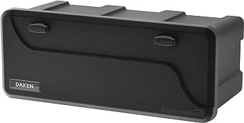 Blackit L 750 X 300 X 355 Mm Deichselbox Mit 2 Schlösser Werkzeugkasten Für Anhänger Staukiste 50 Ltr Anhängerbox Daken B50 2 Baumarkt