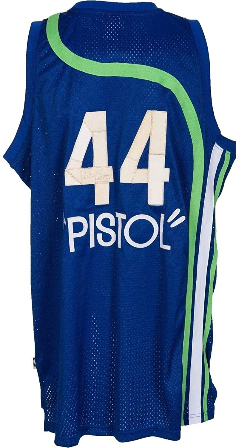 1d43cc8270fa Pete Maravich Autographed Jersey - The Only One Known   JSA COA - PSA DNA  Certified - Autographed NBA Jerseys at Amazon s Sports Collectibles Store