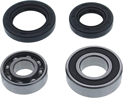 Honda TRX250R Front Wheel Bearings and Seals Kit 1988-1989